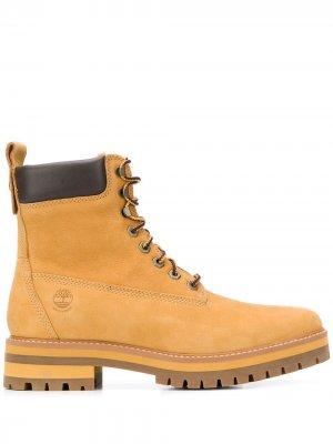 Ботинки Courma Guy Timberland. Цвет: желтый