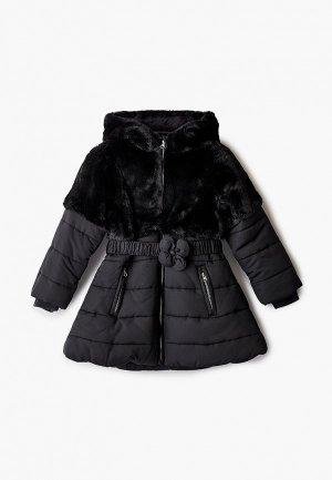 Куртка утепленная Chicco. Цвет: черный