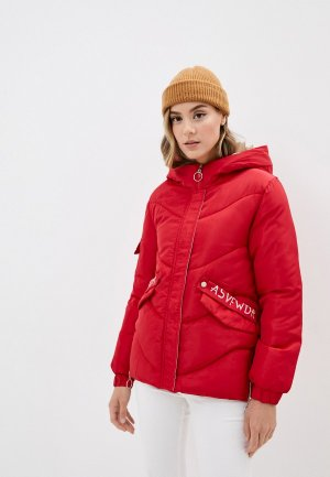 Куртка утепленная Elsi. Цвет: красный