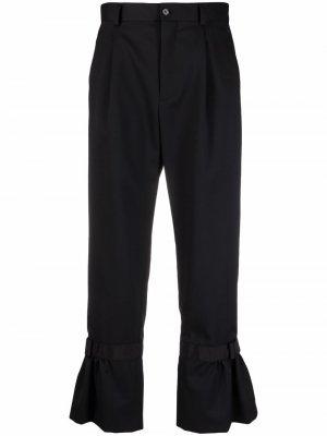Расклешенные брюки Comme Des Garçons Noir Kei Ninomiya. Цвет: черный
