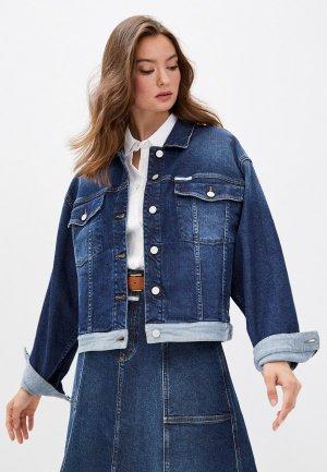 Куртка джинсовая Closed. Цвет: синий