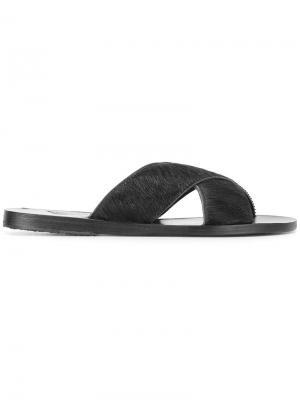 Сандалии Thais Ancient Greek Sandals. Цвет: черный