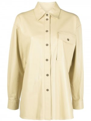 Рубашка Angelina Arma. Цвет: желтый
