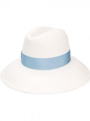 Шляпа-федора Claudette Borsalino. Цвет: белый