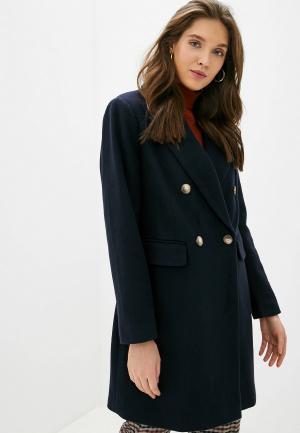 Пальто Dorothy Perkins. Цвет: синий