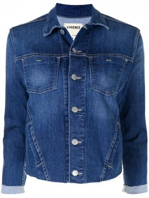 LAgence джинсовая куртка Janelle L'Agence. Цвет: синий