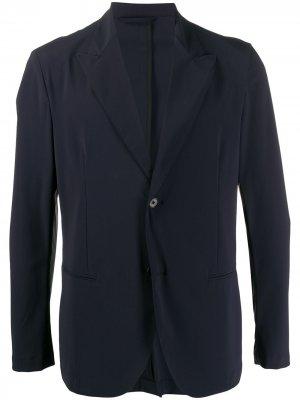 Однобортный пиджак строгого кроя Hydrogen. Цвет: черный