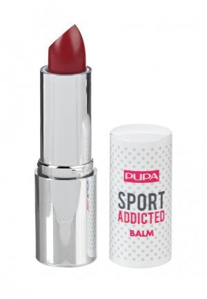 Бальзам для губ Pupa. Цвет: бордовый
