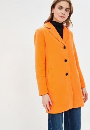 Пальто b.young. Цвет: оранжевый