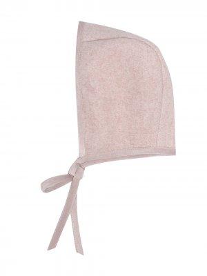 Чепчик с завязками La Stupenderia. Цвет: розовый