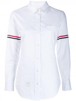 Рубашка оксфорд Thom Browne. Цвет: белый