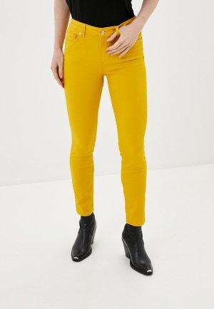 Брюки Silvian Heach. Цвет: желтый