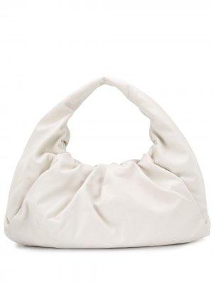 Сумка  Shoulder Pouch Bottega Veneta. Цвет: белый