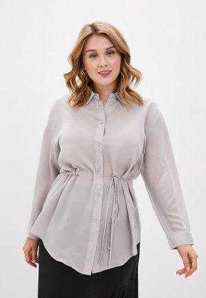 Блуза Svesta. Цвет: серый