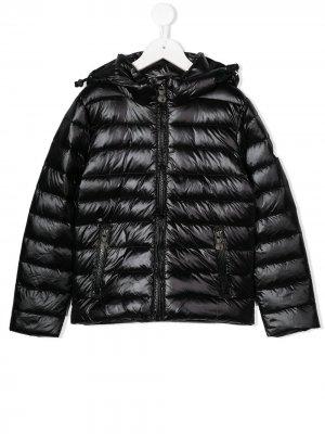 Куртка-пуховик Pyrenex Kids. Цвет: черный