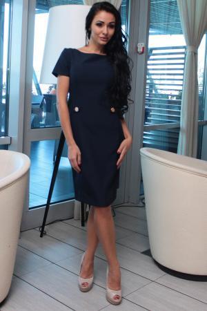 Платье Dioni. Цвет: мультицвет