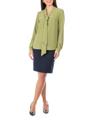 Блузка Mankato. Цвет: зеленый