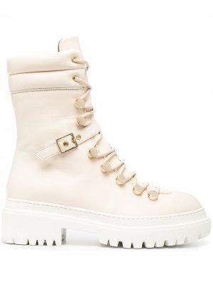 LAutre Chose ботинки в стиле милитари на шнуровке L'Autre. Цвет: нейтральные цвета