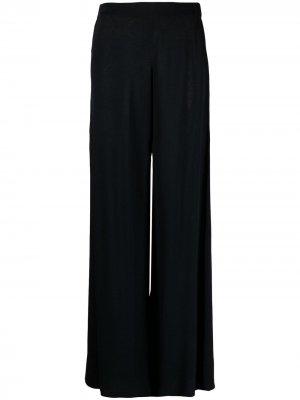 Расклешенные брюки с завышенной талией P.A.R.O.S.H.. Цвет: синий