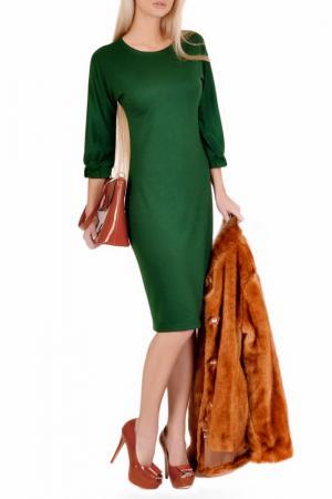Платье FABIEN DE FERANTE. Цвет: зеленый