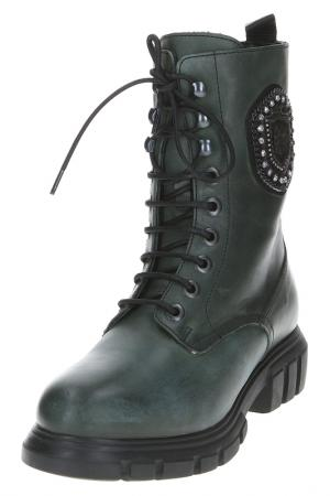 Ботинки NILA&NILA TREND. Цвет: зеленый