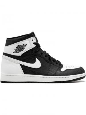 Кроссовки Air  1 Retro High OG Jordan. Цвет: черный