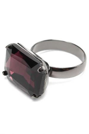 Кольцо DIVA. Цвет: фиолетовый