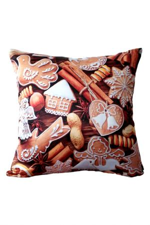 Подушка декоративная GIFTNHOME GIFT'N'HOME. Цвет: коричневый