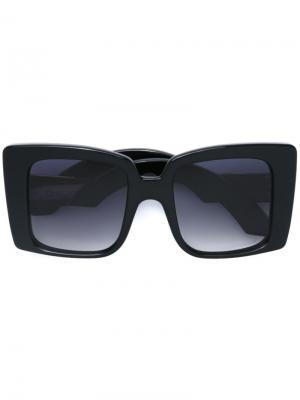 Солнцезащитные очки Liane Jacques Marie Mage. Цвет: черный
