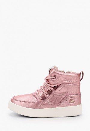 Ботинки Viking. Цвет: розовый