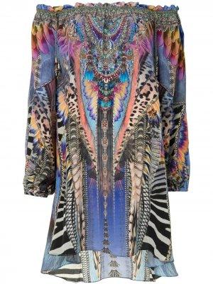 Платье Love On  Wing Camilla. Цвет: фиолетовый
