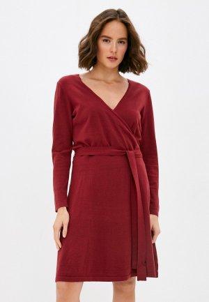 Платье Vero Moda Curve. Цвет: красный