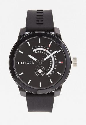 Часы Tommy Hilfiger. Цвет: черный