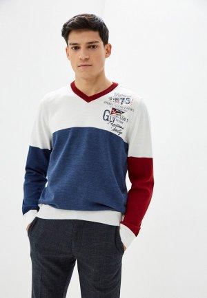 Пуловер Galvanni. Цвет: синий
