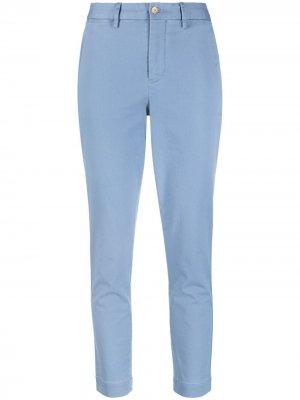 Укороченные брюки чинос Polo Ralph Lauren. Цвет: синий