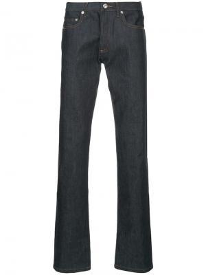 Расклешенные джинсы A.P.C.. Цвет: синий