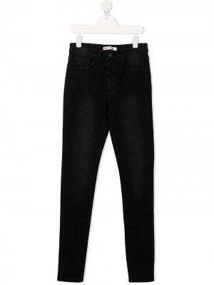 Levis Kids джинсы скинни Levi's. Цвет: черный
