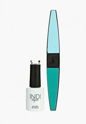 Набор для ухода за ногтями Runail Professional. Цвет: фиолетовый