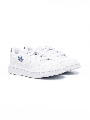 Кроссовки NY 90 с логотипом adidas Kids. Цвет: белый
