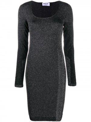 Платье-футляр Luna длины миди Wolford. Цвет: черный