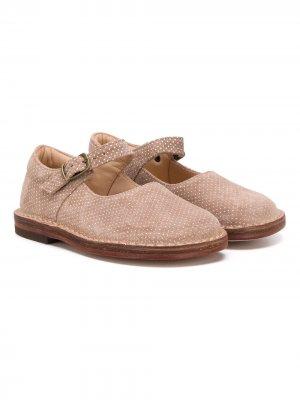 Туфли Milly с пряжкой Pèpè. Цвет: коричневый
