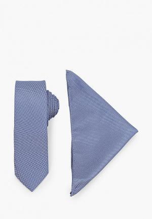 Галстук Burton Menswear London. Цвет: синий