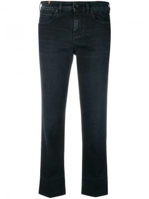 Укороченные джинсы Notify. Цвет: синий