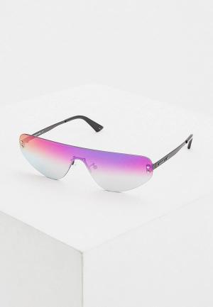 Очки солнцезащитные McQ Alexander McQueen. Цвет: фиолетовый