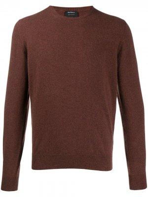 Delloglio свитер с длинными рукавами Dell'oglio. Цвет: коричневый
