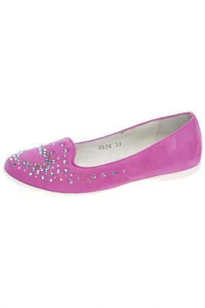 Туфли CIAO BIMBI. Цвет: малиновый