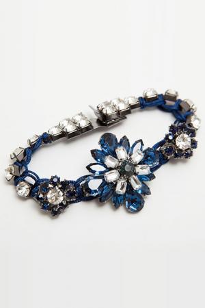 Браслет Asavi Jewel. Цвет: синий