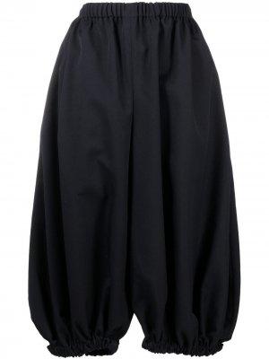 Укороченные брюки-шаровары Comme Des Garçons. Цвет: синий