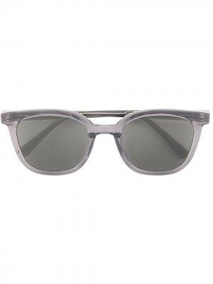Солнцезащитные очки Tomy в квадратной оправе Gentle Monster. Цвет: серый