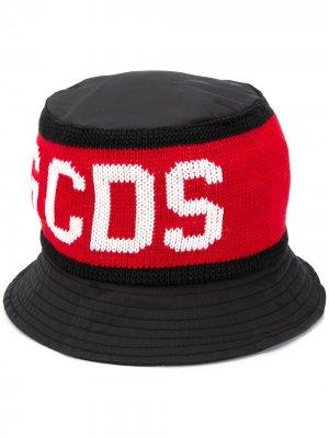 Панама с логотипом Gcds. Цвет: черный